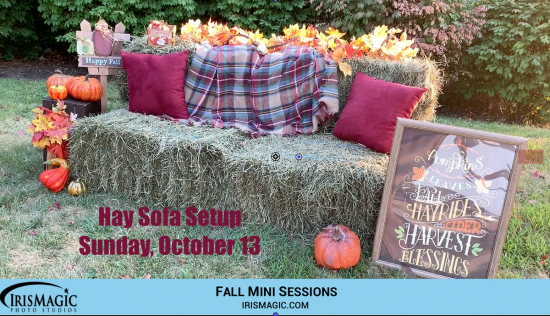 Fall Family Sessions October 6, October 13 and October 20